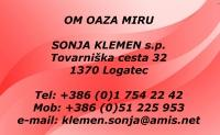 Om oaza miru, masaža, Logatec logo image