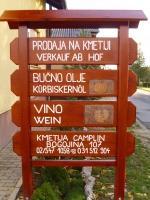 Image of Domače bučno olje - Kmetija Camplin, Prekmurje