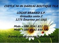 Cvetlični, Darilni Boutique Tila, Šmartno pri Litiji