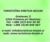 Turistična kmetija Bizjak, Zibika, Orehovec logo image