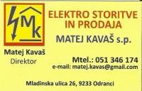 Elektrostoritve Matej Kavaš, Strelovodni sistemi, Odranci, Ljutomer logo image