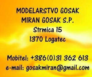 Modelarstvo Gosak, Logatec