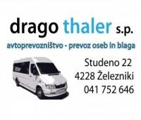 Avtoprevozništvo, Prevoz oseb, Prevoz blaga in tovora Drago Thaler, Gorenjska