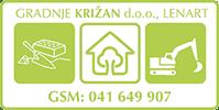Gradnje Križan d.o.o. logo image