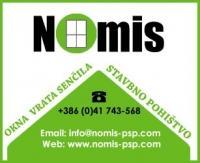 PVC Okna Nomis, Pomurje, Ljutomer logo image