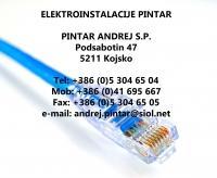 Elektroinstalacije Pintar, Kojsko Goriška