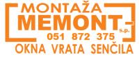 Okna, vrata in senčila Memont, Ljubljana logo image