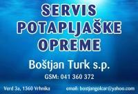 Servis potapljaške opreme - Boštjan Turk s.p., Vrhnika