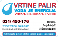 Vrtanje in iskanje vode - Vrtine Palir Iztok s.p. logo image