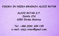 Gradbeništvo Alojz Rutar, Ilirska Bistrica
