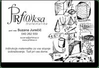 Prfoksa INŠTRUKCIJE MATEMATIKE, Krško logo image