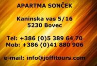 Apartma SONČEK, rooms, Bovec