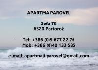 Apartma Parovel, Portorož