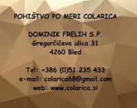 Colarica, pohištvo po meri, Bled