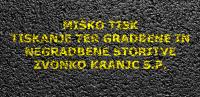 Barvanje talnih označb, barvanje cestnih črt, barvanje parkirišč logo image