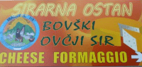 Ekološki bovški ovčji sir - Sirarstvo Ostan Bovec logo image
