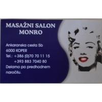 Erotična masaža Body to body, masažni salon Monro, Koper