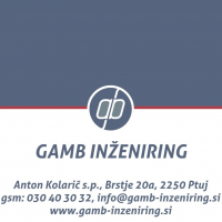 GAMB INŽENIRING, Anton Kolarič s.p.