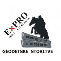 Geodetske storitve EXPRO d.o.o., Ljubljana