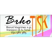 Grafično oblikovanje in tisk - Brkotisk logo image
