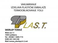 Izdelava prozorne plastične embalaže, blister embalaža Tomaž Skerlep s.p.