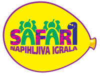 Izposoja, najem napihljivih igral Safari Maribor logo image