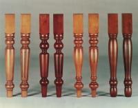 Lesene noge za pohištvo, lesna galanterija
