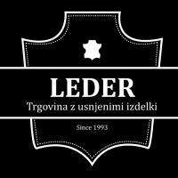 Torbice usnjene, torbice iz umetnih materialov, jakne usnjene - Trgovina Leder, Ljubljana logo image