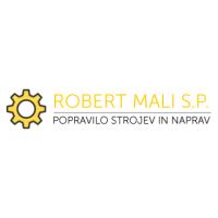 servis gradbene mehanizacije, servis strojev, popravilo beton pumpe, popravilo mikser pump, Robert Mali logo image