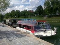 Plovba po Ljubljanici - rečna ladja ŽABA logo image