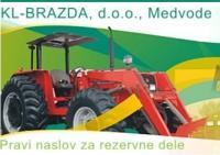 Rezervni deli za kmetijske in gradbene stroje KL-BRAZDA