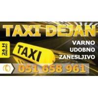 Taxi prevozi Kranj Gorenjska - Taxi Dejan