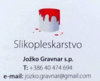Stenske dekoracije, zidne dekoracije, pleskanje Goriška logo image