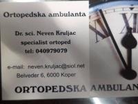 Zasebna ortopedska ordinacija, oprtopedska ordinacija Koper, ortopedija Koper