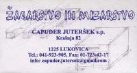 Žagarstvo in mizarstvo Capuder Juteršek, Lukovica Domžale