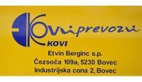 Kovi prevozi, Transport oseb, Bovec