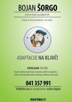 Slikopleskarstvo in fasaderstvo Bojan Šorgo, Gorenjska logo image