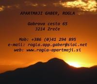 Apartmaji Gaber, Rogla