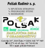 Zaključna gradbena dela Polšak Radimir s.p., Celje