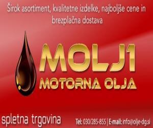 MOLJ1, Motorna olja, Ljubljana