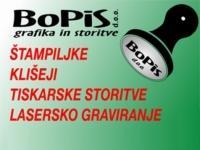Štampiljke BOPIS, Ljubljana