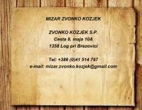 Mizar Zvonko Kozjek, Popravilo pohištva, Brezovica logo image
