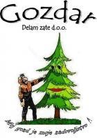 Gozdar DELAM ZATE, Zgornja Besnica logo image