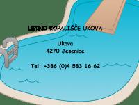 Letno kopališče Ukova, Jesenice