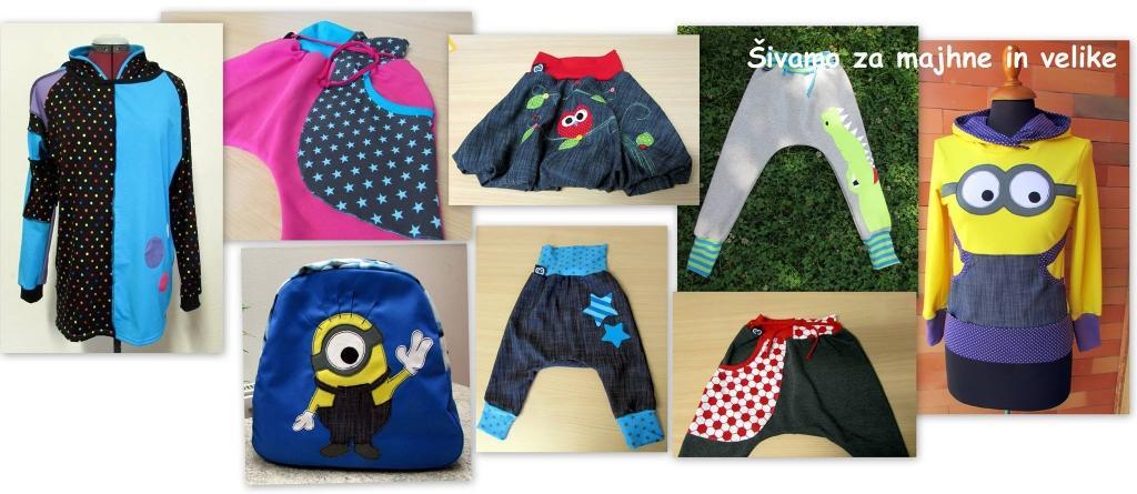 Šivanje otroških oblačil, športnih oblačil, udobnih oblačil gallery photo no.43