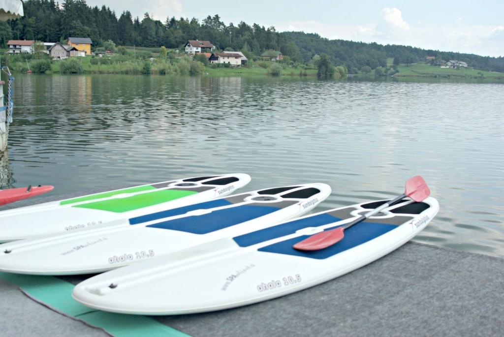 Šport, supanje, kajak, hoja po vodi Šmartinsko jezero gallery photo no.4