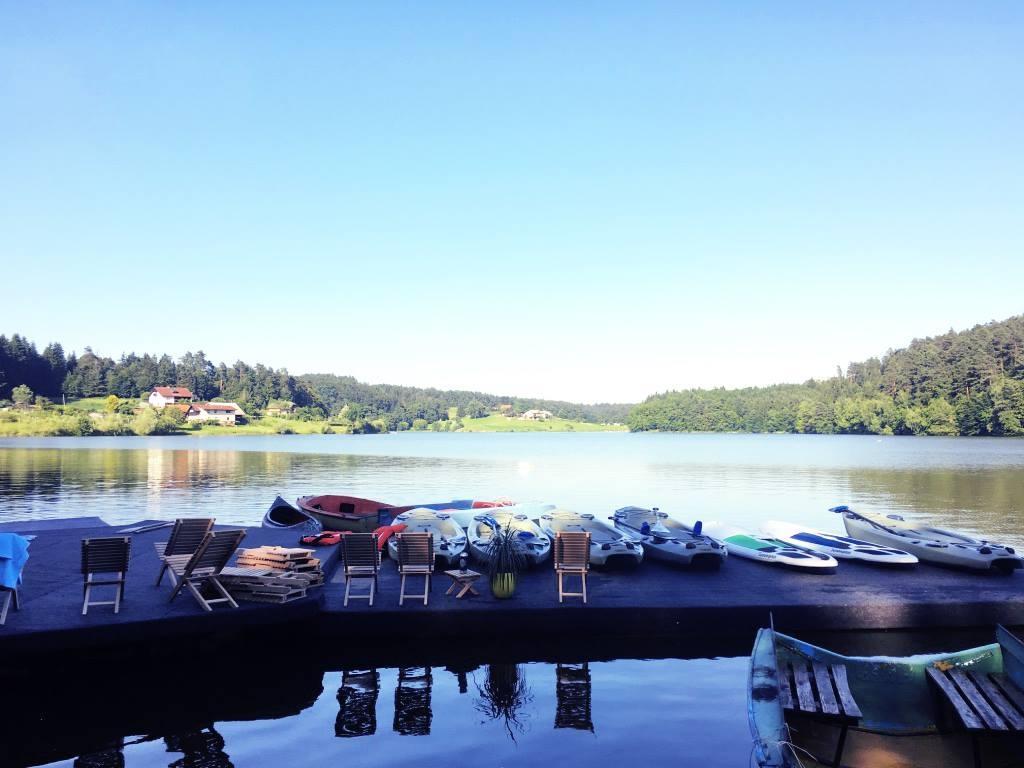 Šport, supanje, kajak, hoja po vodi Šmartinsko jezero gallery photo no.9