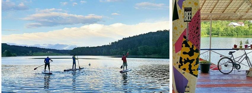 Šport, supanje, kajak, hoja po vodi Šmartinsko jezero gallery photo no.12
