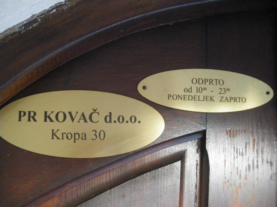 Gostilna Pr Kovač, Kropa gallery photo no.0