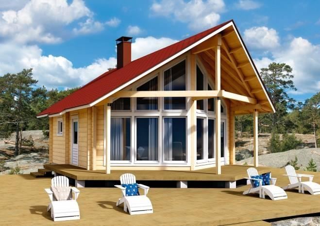 Svetovne brunarice KONTIO, lesene hiše, Trebnje gallery photo no.9